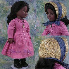 PLEASANT COMPANY American Girl ADDY Doll w/Bonnet 1993
