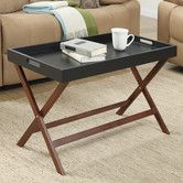 Found it at Wayfair - Lockheart Coffee Table with Removable Tray