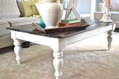 Fancy farmhouse! I'm doing this to my kitchen table!