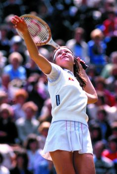 Hana Madlikova, #tennis, 1980's Hana Mandlikova, Tennis Legends, Tennis Players Female, Ellesse, Tennis Racket, Athletes, Earth, Tennis, Sports