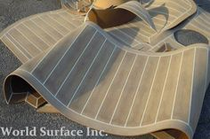 Looking for Synthetic Teak Decking for boats? World Surface offers a wide range of Synthetic Teak Decking in different colors that require minimal maintenance. Decking, Teak, Maine, Sailing, Candle