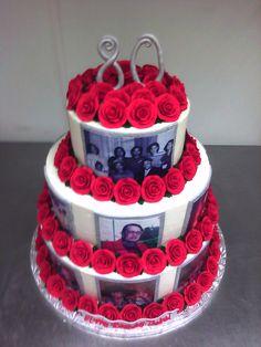 birthday cakes for women | 80th Birthday Cake Designs For Women