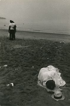 """Coney Island , Vintage, by Robert Frank - """"Those who live within the bonds of ignorance experience but a small portion of the infinite bliss."""" - S. Radhakrishnan."""