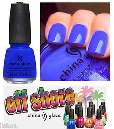 China Glaze OFF SHORE 2014 , 1/2 oz. #1307 I sea the point - High Coverage - Professional 220-strand brush for ease of application - Non-Thickening Formula China Glaze is a revolutionary nail color sy