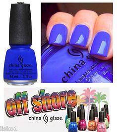 China Glaze nail polish OFF SHORE summer 2014 , 1/2 oz. #1307 I sea the point