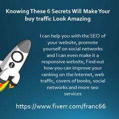 Knowing These 6 Secrets Will Make Your buy traffic Look Amazing