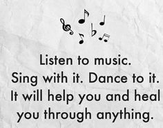 Listen to music and forget all worries. Kinds Of Music, Music Love, Listening To Music, Music Is Life, My Music, Reggae Music, Music Lyrics, Music Quotes, Me Quotes