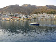GREECE CHANNEL | Kalymnos Romantic Destinations, Romantic Places, Paradise On Earth, Greek Islands, Greece Travel, Sunsets, Beaches, New York Skyline, Places To Go