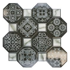 OK... here's an idea... stain dark gray and then stencil a lighter color like this.  It would look like a large area rug!