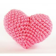 A knitted 3D pink heart created with  a solid Polystyrene / Styrofoam Craft Heart as the base. Poly hearts are stocked by us at www.Craftmill.co.uk   For more DIY Wedding Decoration Supplies visit us soon!