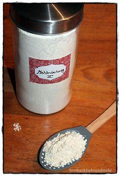brotbackliebeundmehr - Foodblog - Glutenfreier Mehlmischungen für dunkle Brote