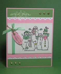 Christmas Color Sketch by reneejul1 - Cards and Paper Crafts at Splitcoaststampers