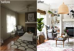 before after// Repinned via Decorget