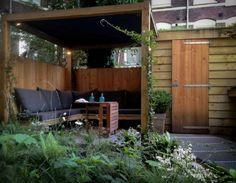Wilt u een houten terrasoverkapping of een tuinhuis of for Tuin ontwerpen ipad