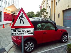 Slow Down. Its Cape Town by Smath., via Flickr