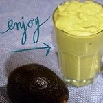 Avocado Coconut Cream Smoothie
