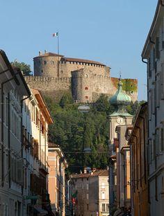 Gorizia veduta del castello