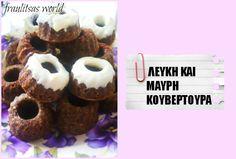 minigugls with white and dark chocolate Sugar Love, Breakfast Snacks, Muffin, Sweets, Chocolate, Food, Dark, Gummi Candy, Candy