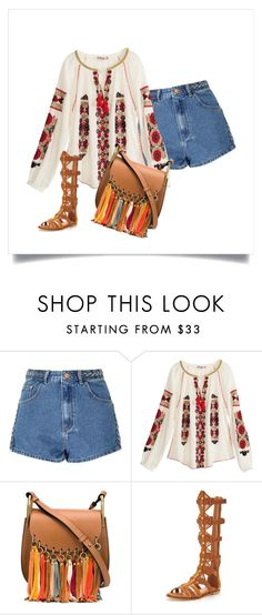"""Boho"" by lexy24 on Polyvore featuring Glamorous, Calypso St. Barth, Chloé and KG Kurt Geiger"