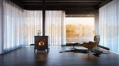 Lac-Megantic, Guest House, Architectural Visualization, Living Room