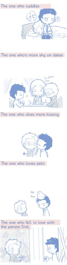 Destiel by Nile-kun.deviantart.com on @DeviantArt