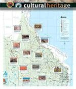 CULTURAL HERITAGE MAP-  Queensland's Aboriginal and Torres Strait Islander cultural heritage map lists more than 200 landscapes, places and cultural heritage sites.