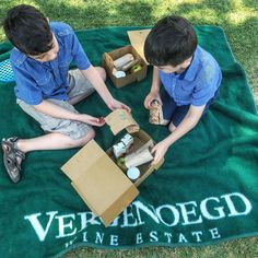 My boys had a picnic under the sunny blue skies at Vergenoegd Wine Estate in Stellenbosch, South Africa last month on our visit to Cape Town, South Africa and loved it. So much room to run and play and activities to do. Picnic Baskets, Order Book, Activities To Do, Travel With Kids, South Africa, Cape, Outdoor Blanket, Menu, Lunch