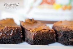 Nutella Ooey Gooey Butter Cake |  DessertedPlanet.com