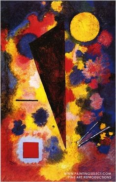 """Resonance""  Wassily Kandinsky                                                                                                                                                                                 More"