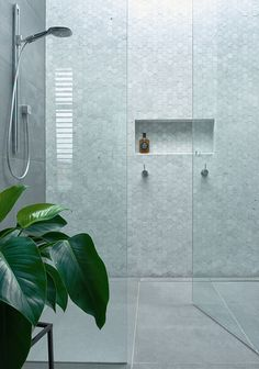 Bathroom decor for your bathroom renovation. Discover master bathroom organization, bathroom decor suggestions, master bathroom tile some ideas, master bathroom paint colors, and much more. Bathroom Trends, Bathroom Renovations, Bathroom Ideas, Bathroom Inspo, Bathroom Layout, Bathroom Makeovers, Serene Bathroom, Bathroom Niche, Tile Layout