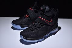 fa341d5d4dd Nike LeBron 14 xiv ep sneakers classic men s basketball shoes black red