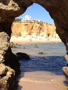 Praia da Rocha, Portimão. Algarve, Portugal