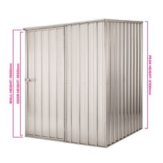 Find Pinnacle 1.5 X 1.5 X 2.1m Zinc Garden Shed At Bunnings Warehouse. Visit