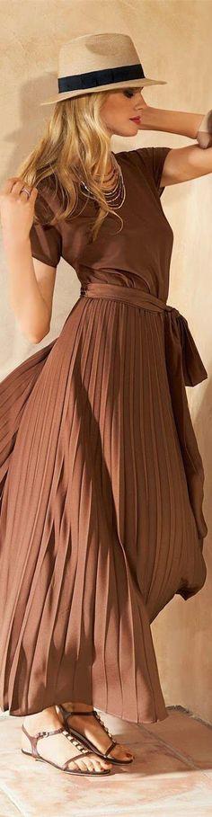 Inspirierend! All over Look in verlaufendem Nougatbraun (Farbpassnummer 5) Kerstin Tomancok Farb-, Typ-, Stil & Imageberatung