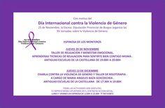 29/11 y 13/12 Espinosa de los Monteros  XV Jornadas sobre la Violencia de Género #Merindades