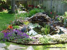 This one will look great in my backyard as well - http://www.pondliner.com/product/Gurtner-Garden-Pond/pond_galleries# - Hard to decide :-) - Denise Gurtner's Garden Pond