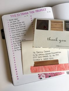 In My Bullet Journal: A New Gratitude Practice — the papercraft lab