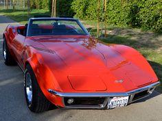 SOLD 1969 Chevrolet Corvette Convertible for sale by Corvette Mike Old Corvette, Classic Corvette, Corvette For Sale, Chevrolet Corvette Stingray, Corvette Mike, Convertible, Used Corvettes For Sale, Old Vintage Cars, Antique Cars