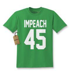 Impeach 45 President Kids T-shirt