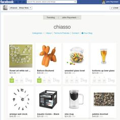 Setting up an online store on your Facebook page