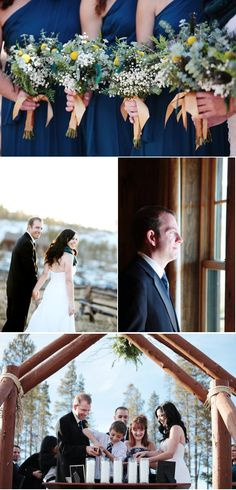 Devil's Thumb Ranch Wedding from Swank Stems + Jenna Walker | Style Me Pretty