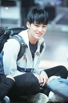 "#MINGYU "" © dear, moment 