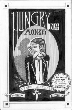 Hungry Monkey benefit zine.