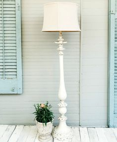 Tall Shabby Chic Floor Lamp Shabby Chic Floor Lamp