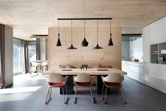 Wooden Interior by Coblonal Arquitectura