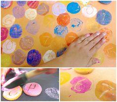 Nuestro Mundo Creativo: Sellos de plastilina