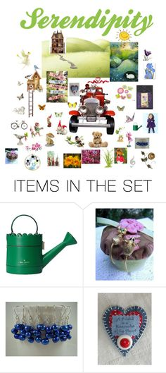 """Serendipity"" by patchworkcrafters ❤ liked on Polyvore featuring art"