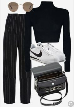 47 streetstyle looks cool 47 Street Style Outfits To Look Cool Style outfits Nice street style outfits Mode Outfits, Trendy Outfits, Fall Outfits, Fashion Outfits, Womens Fashion, 1990s Style Outfits, Petite Fashion, 1990s Outfit, Look Fashion