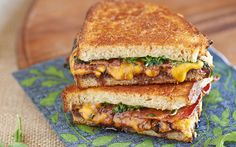 The Grilled Cheese Gourmet on PaulaDeen.com