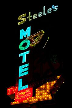 Steele's Motel by Thomas Hawk, via Flickr #boulderinn